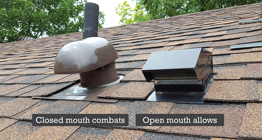 Robert S Roof Cap Bath Roof Vent Bathroom Exhaust Vent