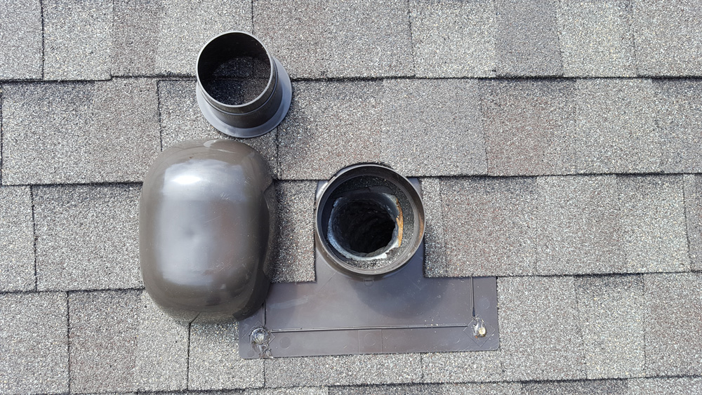 bath roof cap assembly