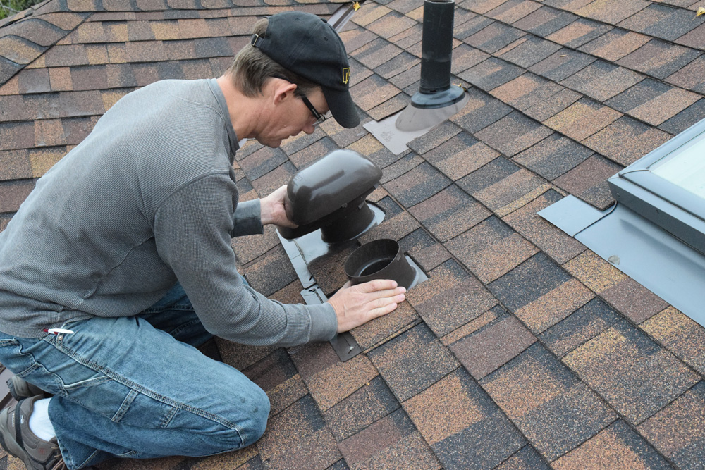 bath roof cap inspection
