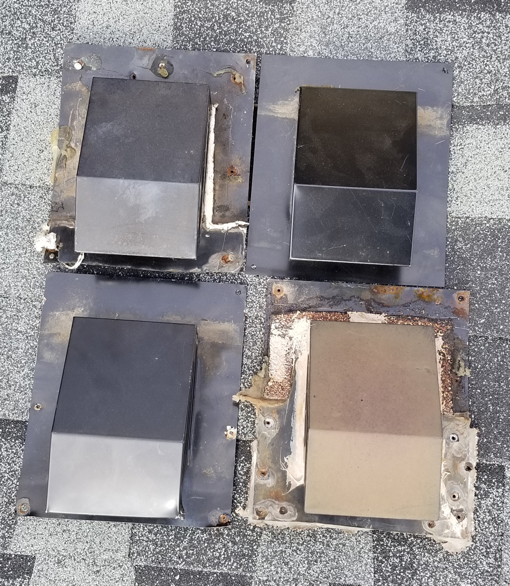 bath roof vent box designs