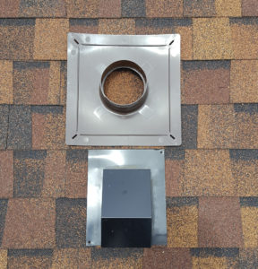 round versus square booth roof vent